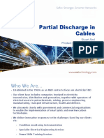 Partial Discharge in Cables
