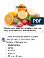 nutrient ppt gcse