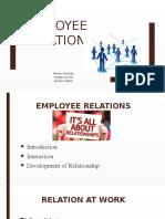 Updated Employee Relations