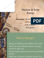 Nuclear & Solar Energy