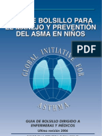 clasificacion asma