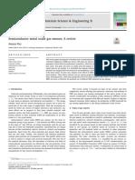 Semiconductor Metal Oxide Gas Sensors MSE B 2018