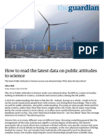 How to Read the Latest Data on Public Attitudes to Science _ Alice Bell _ Science _ the Guardian