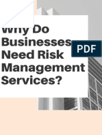 Why Do Businesses Need Risk Management Services