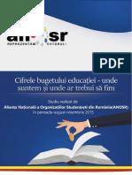 Analiza ANOSR Finantare 2015