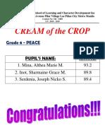 Cream of the Crop 2015