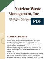 nutrient waste