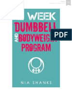 12 Week Dumbbell and Bodyweight Program