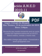 Flyer Iniciacion ANED