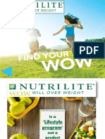 Nutrilite Body Key Traning Deck