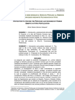 4. La protección que debe brindar el derecho peruano al embrión concebido in vitro.pdf