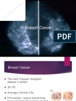 Lecture 8- Breast Cancer
