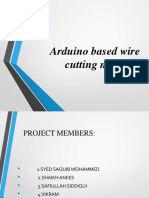 Wire Cutting Machine Finalppt