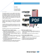 Datasheet Amplifier LDS Power Amplifiers