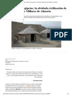 Historia_ Antes Que Los Egipcios_ La Olvidada Civilización de Los Millares de Almería