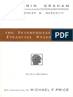 Interpretation of Financial Statements, The - Benjamin Graham; Spencer B Meredith