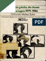 Transicion y Lucha de Clases en Nicaragua 1979-1986