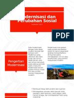 Modernisasi Dan Perubahan Sosial (Kurikulum 2013)