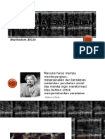 Perubahan Sosial Dan Dampaknya (Kurikulum 2013)