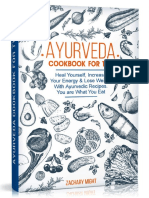 Ayurveda Cookbook for Two Heal Yourself