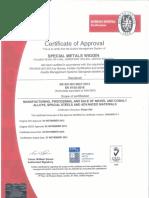 SMWL - AS9100 Rev D (en 9100_2018) - Expires 27th Nov 2021