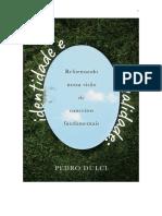 Identidade e sexualidade Pedro Dulci