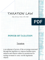 General Principles of Taxation June 2019 College of Law