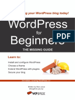 Wordpress for Beginners Free eBook Wp35