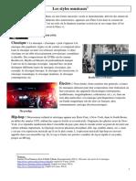 QP1-Les Styles Musicaux