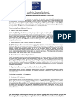 HRDN Paper 2019 EP Defending Human Rights and Democracy Worldwide 1
