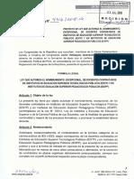 NOMBRAMIENTO AUTOMATICO DE DOCENTES DE INSTITUTOS
