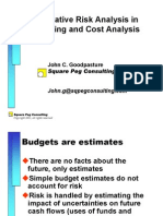 Statistics in Cost Analysis