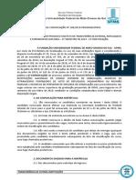 SEI_UFMS - 1368795 - Edital 186.2019-Prograd-Segunda Convoca o