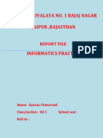 99202981 Informatics Practices Class 12 Record File Cbse