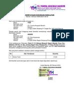 Cv. Yumira - Surat Pernyataan Dukungan Peralatan
