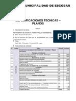 Especificaciones Tecnicas Planos 1391869260079