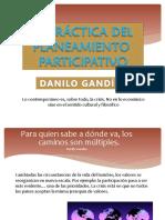 Planeamiento Participativo - DANILO GAND{In