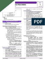 Pharma - M1L1 - Rational Drug Prescribing