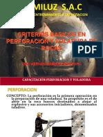 Capacitacion de Perforacion y Voladura-2011