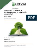 Gsolis_Una Mirada a La Educacion Ambiental.
