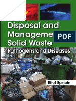 Disposal and management solid waste