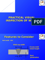 Practical Visual Inspection Of Welds