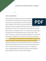 Pierre Bourdieu and Jacques Rancière on art:ae sthetics and politics
