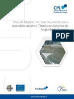 Guia de Mtd Para Acondicionamiento Termico en Servicios de Alojamiento Turistico