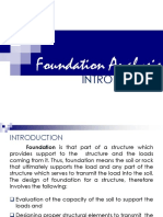 Soil Foundations Introduction