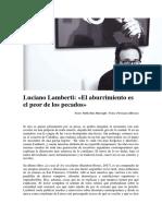 Luciano Lamberti Aburrimientopecado