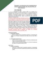 Correlación Entre El Crecimiento Económico y La Generación de Empleo en El Perú Entre Los Años 2006 y 2016