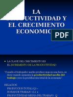 La Productividad y El Crecimiento Economico