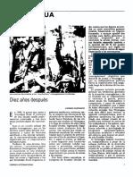 Nicaragua Diez Años Despues