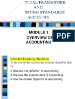Cf Module 1-Overview of Accounting